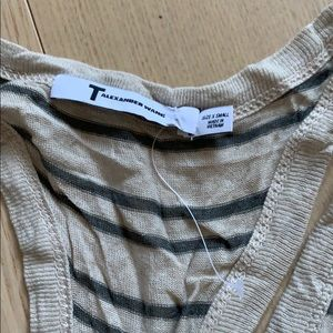 Tops - T Alexander wang striped tank top